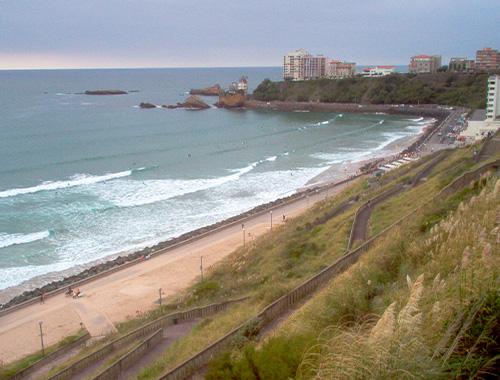plage biarritz spot de surf