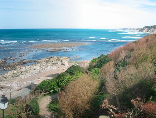plage bidart spot de surf