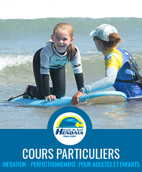 cours particuliers surf