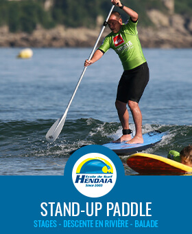cours stand up paddle stage